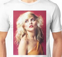 Debbie Harry, Red Unisex T-Shirt