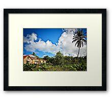 Tropical Retreat Framed Print