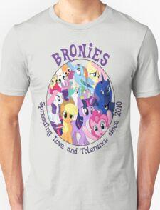 Bronies, classic logo Unisex T-Shirt