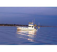 """Ellie Jane """" Anchored boats serious."""" Photographic Print"""