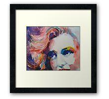 Marilyn  no11 Framed Print