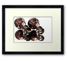 The end of a monarchy, or are they just sleeping? Framed Print