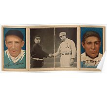 Benjamin K Edwards Collection Leon Ames J T Meyers New York Giants baseball card portrait Poster