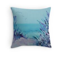 Sea of calm Throw Pillow