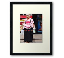 Indian Lady - Señora Indigena Framed Print