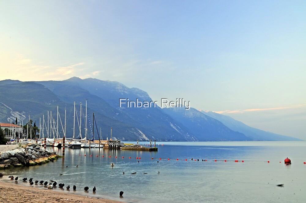 Lake Garda, early morning by Finbarr Reilly