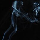 Mother and child -- smoke photography by © Pauline Wherrell