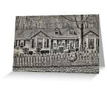 The Front Fence Greeting Card