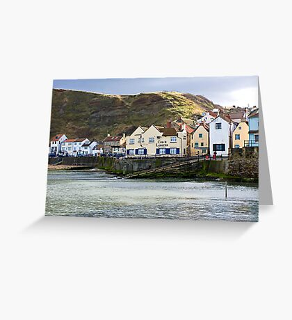 Staithes- North Yorkshire Coast Greeting Card