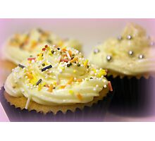 cupcakes and sprinkles Photographic Print