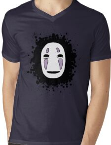 No face 1 Mens V-Neck T-Shirt