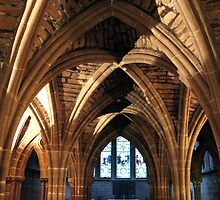 CHESTER CATHEDRAL CLOISTERS by gothgirl