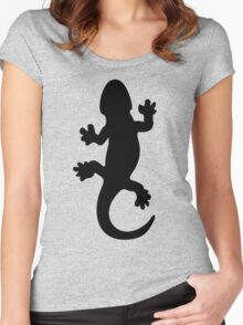 Black Lizard Women's Fitted Scoop T-Shirt