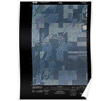 USGS Topo Map Washington State WA Pizarro 20110404 TM Inverted Poster
