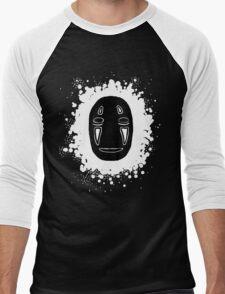no face 2 Men's Baseball ¾ T-Shirt