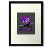 Nightstalker Hunter Haunter Framed Print