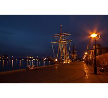 Tall Ships in Port Photographic Print