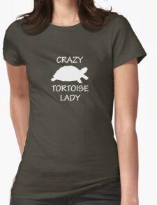 Crazy Tortoise Lady (White) T-Shirt