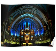 Montreal Notre Dame Basilica - Vieux Montreal Poster
