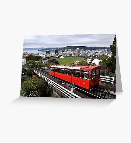 Wellington Cable Car Greeting Card