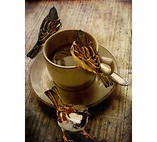 Cold Coffee Photographic Print