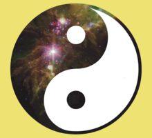 ying yang galaxy  Kids Clothes