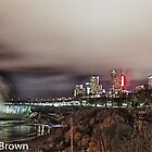 Niagara at Night by Craig Brown