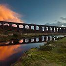Big Water Of Fleet Viaduct by Brian Kerr