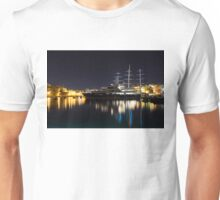 Reflecting on Malta - Luxury Superyachts in Valletta Unisex T-Shirt