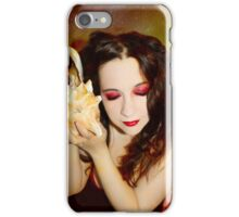 To the sea she stays a slave iPhone Case/Skin