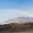 Rainbow in Death Valley by Will Hore-Lacy