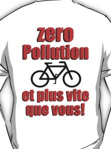Zero Pollution (Fr) T-Shirt