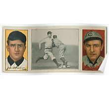 Benjamin K Edwards Collection John A Rowan James P Archer Chicago Cubs baseball card portrait Poster