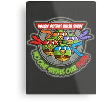 Angry Mutant Ninja Birds Metal Print