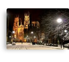 A Magical Evening In York Canvas Print