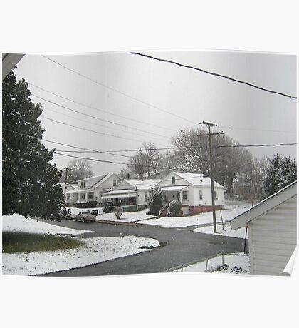 Feb. 19 2012 Snowstorm  Poster