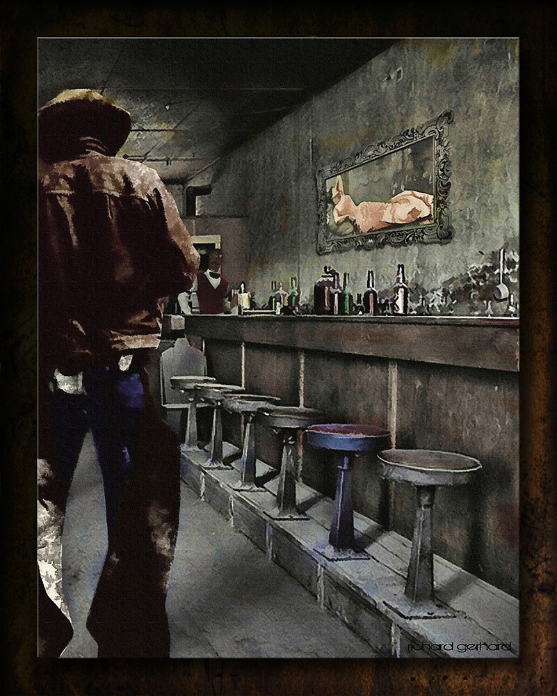 The Bodie Saloon by Richard  Gerhard
