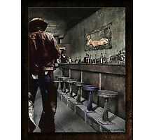 The Bodie Saloon Photographic Print