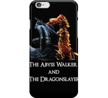 Abyss Walker vs Dragonslayer iPhone Case/Skin