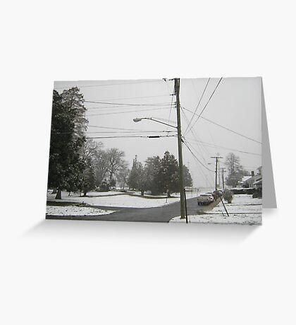 Feb. 19 2012 Snowstorm 8 Greeting Card