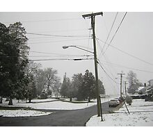 Feb. 19 2012 Snowstorm 8 Photographic Print