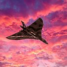 Vulcan going out in a blaze of glory by Gary Eason