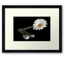 Add One Heaping Tablespoon of Flower Framed Print