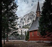 Yosemite Chapel by Joseph Fronteras