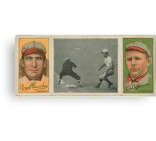Benjamin K Edwards Collection Roger Bresnahan Robert Harmon St Louis Cardinals baseball card portrait Canvas Print
