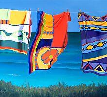 """""""Beach Towels"""" by Leisa O'Brien"""