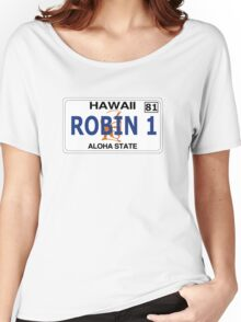"""Robin 1""  Magnum Hawaii Plate Women's Relaxed Fit T-Shirt"