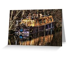 The Narrowboat Greeting Card