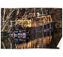 The Narrowboat Poster