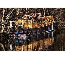 The Narrowboat Photographic Print